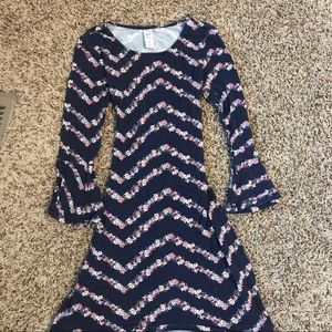 Justice long sleeve dress